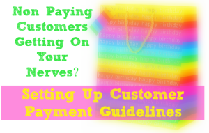 How To Deal With Non Paying Customers in your WAHM Business